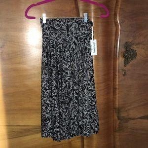Rachel Pally Moonbeam Graffiti Jersey Skirt